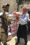 YARDIM MALZEMESİ - TSK Açıklaması 'Afrin'de AFAD, Kızılay Ve Mehmetçik İşbirliği İle 5 Bin 200 Aileye İnsani Yardım Malzemesi Dağıtıldı'