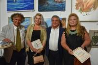 KUŞADASI BELEDİYESİ - Ukraynalı Ressamlar Kuşadası'nı Çizdi