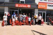 Vali Deniz'den Şehit Ve Gazi Çocuklarına Bayramlık Kıyafet