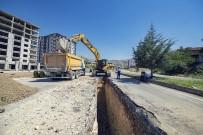 YıLDıZTEPE - 5 Mahallede Yağmur Hattı Çalışması Yapıldı