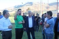 AHMET ÇAKıR - Başkan Polat, Evkur Yeni Malatyaspor'un İdmanını Ziyaret Etti