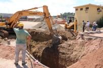 KALAFAT - Biga'da Dev Altyapı Çalışması Başladı