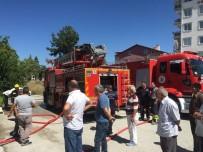 Burdur'da Ev Yangını Korkuttu