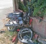 DEVLET HASTANESİ - Çaldığı Motosikletle Kaza Yapan Hırsız Yaralandı