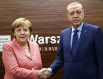 ANGELA MERKEL - Erdoğan Merkel ile telefonda görüştü