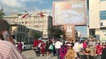 MEHMET SEKMEN - Erzurum'da Beşiktaş Maçı Heyecanı