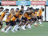 FLORYA - Galatasaray'da Göztepe Mesaisi Sürdü