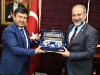 GAZIANTEP TICARET ODASı - GTO Üyeleri Özbekistan Heyetiyle Buluştu