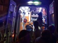 İki Otomobil Çarpıştı 6 Yaralı