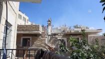 KUDÜS - İsrail Doğu Kudüs'te Filistinlilere Ait Binayı Binayı Yıktı