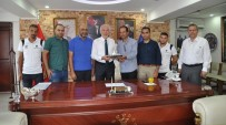 KUDÜS - Kudüs Evlatlarıspor Kulübü Başkanı Ve Oyuncuları Kütahya'da