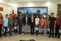 LGS'de Başarılı Olan Öğrencileri Vali Ödüllendirdi