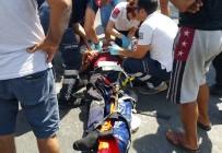 IŞIK İHLALİ - Milas'ta Trafik Kazası Açıklaması 1'İ Ağır 3 Yaralı