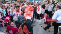 DAVUL ZURNA - Mora Boyanan Koyunlarla Kortej Yürüyüşü