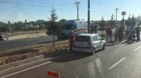 ÇARPMA ANI - Otomobilin Çarptığı Yaşlı Adam Hayatını Kaybetti