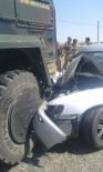 Silvan'da Otomobil Askeri Araca Çarptı Açıklaması 1 Yaralı