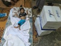 SAĞLIKSIZ BESLENME - Suriyeli Küçük Ömer Türkiye'de Sağlığına Kavuşacak