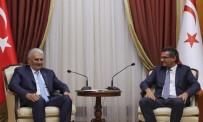 KUZEY KIBRIS - TBMM Başkanı Yıldırım, KKTC Başbakanı Erhürman İle Görüştü