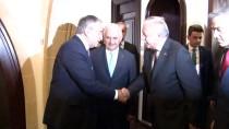 MUSTAFA AKINCI - TBMM Başkanı Yıldırım, KKTC Cumhuriyet Meclisi Başkanı Uluçay İle Görüştü