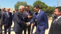 MECLİS BAŞKANLARI - TBMM Başkanı Yıldırım KKTC Meclis Başkanı Uluçay İle Görüştü