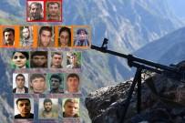 Teröre Büyük Darbe Açıklaması 20'Si Sözde Lider Kadroda 94 Terörist...