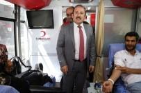 Vali Ali Hamza Pehlivan Kök Hücre Ve Kan Bağış Standını Ziyaret Etti