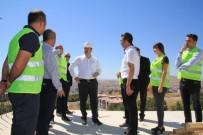 OKTAY KALDıRıM - Vali Kaldırım,İpek Yolu Projesiyle İlgili Çalışmaları İnceledi