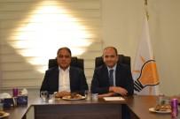 KİLİS VALİSİ - Vali Tekinarslan'ndan AK Parti İl Başkanına Hayırlı Olsun Ziyareti
