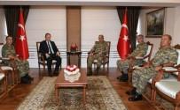 YÜCEL YAVUZ - 3. Ordu Komutanı Savaş, Trabzon Valisi Yavuz'u Ziyaret Etti