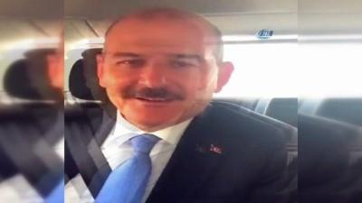 Bakan Soylu'dan 'Kırmızı Düdük' kampanyasına destek mesajı