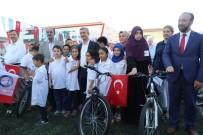 AHMET ÇELIK - Başarılı 817 Kur'an-I Kerim Kursu Öğrencisine Hediye Bisiklet