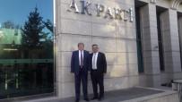 YEREL YÖNETİMLER - Başkan Can'ın Ankara'da Temaslarda Bulundu