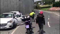 HAMIDIYE - Beşiktaş'ta Otomobille Motosiklet Çarpıştı Açıklaması 1 Yaralı
