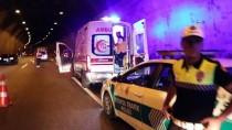 BOLU DAĞı - Bolu Dağı Tüneli'nde Trafik Kazası Açıklaması 3 Yaralı
