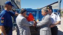 SINDELHÖYÜK - Develi'de 75 Traktöre Reflektör Takıldı