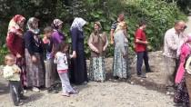 TOPRAK KAYMASI - Fındık Üreticisi Afetzedelere Kızılay'dan Destek