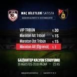 PASSOLİG - Gazişehir Gaziantep-İstanbulspor Maçının Bilet Fiyatları Belli Oldu