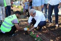 KAMERA SİSTEMİ - Halilye'de Parklar Çiçeklerle Donatılıyor