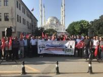 KAPITALIST - Iğdır'da Dolar Kurunun Yüksek Olması Protesto Edildi