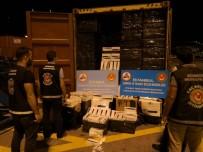 KAÇAK SİGARA - İstanbul'da Kaçak Sigara Operasyonu