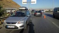112 ACİL SERVİS - Kırıkkale'de 2 Otomobil Çarpıştı Açıklaması 4 Yaralı