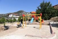 KONYAALTI BELEDİYESİ - Konyaaltı Belediyesi'nden Geyikbayırı'na Yeni Park