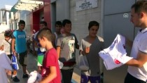 MUSTAFA HAKAN GÜVENÇER - Manisa'da Çocuklara Yüzme Malzemesi Dağıtıldı
