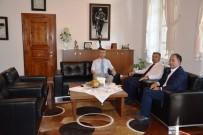 ALI SıRMALı - Milletvekili Canbey'den Kaymakam Sırmalı'ya Ziyaret