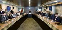 KÜLTÜR VE TURİZM BAKANI - Nevşehir Heyeti, Kültür Ve Turizm Bakanı Ersoy'u Ziyaret Etti