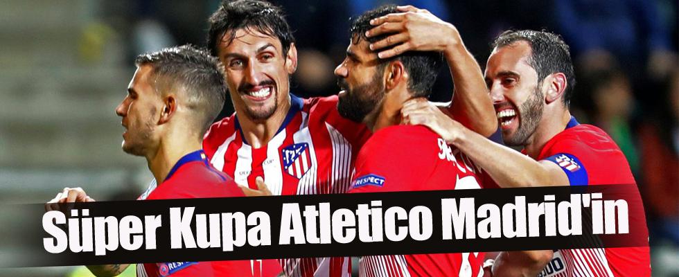 Süper Kupa Atletico Madrid'in