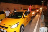 TAKSİ DURAKLARI - Taksicilerden ABD Protestosu