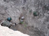 KAYGıSıZ - Toprağa Gömülü Patlayıcı İmha Edildi