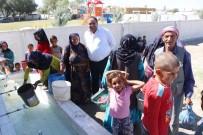 Aksaray'da Urfalı Tarım İşçileri Suya Kavuştu
