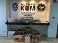 EMNIYET MÜDÜRLÜĞÜ - Alanya'da Kaçak Ve Sahte İçki Operasyonu